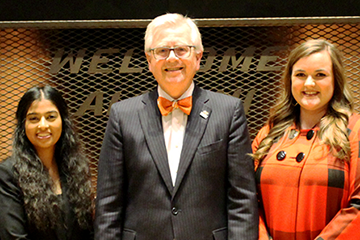 Spears Business students recognized as OSU Seniors of Significance