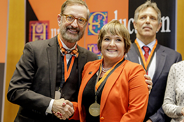 Spears Business faculty, staff honored at University Awards Convocation