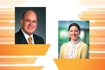 Pair of accounting alumni receive awards from the American Accounting Association