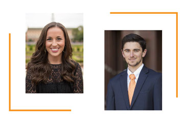 OSU alums Nathan Herrmann, Kelsey Ray winners of prestigious accounting award