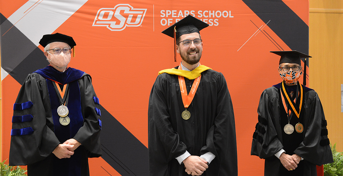 Spears Business honors 2020 grad students