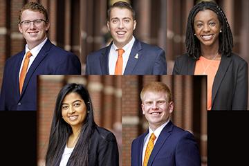 Spears Business students named Outstanding Seniors