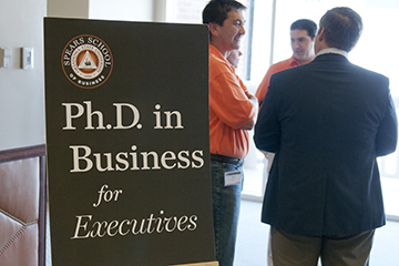 Executive Ph.D. program charts path to innovative startup