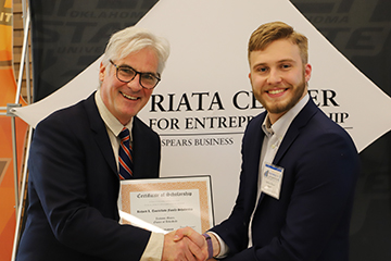 Students claim $45,000 in prize money in Riata Business Plan Competition