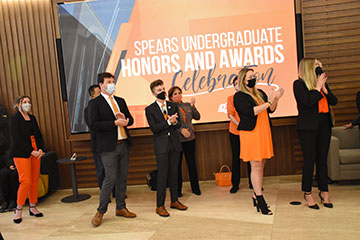 Spears Business recognizes students, faculty