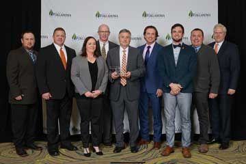 OSU wins Keep Oklahoma Beautiful Award with Welcome Plaza