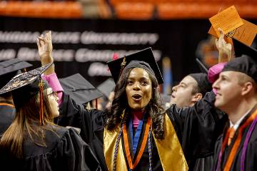 Oklahoma State University recognizes fall graduates; honors Halligans, McCaleb