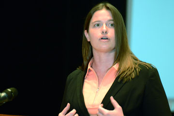 OSU grad student wins Three Minute Thesis® after several attempts