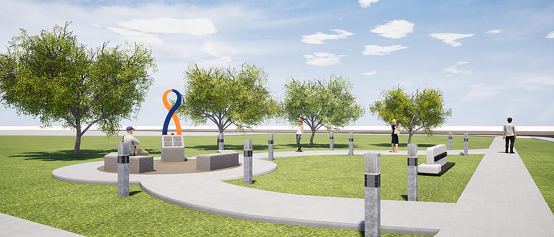 Stillwater Strong Memorial rendering