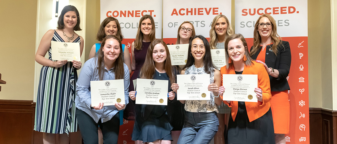 CAS Awards Banquet honors students