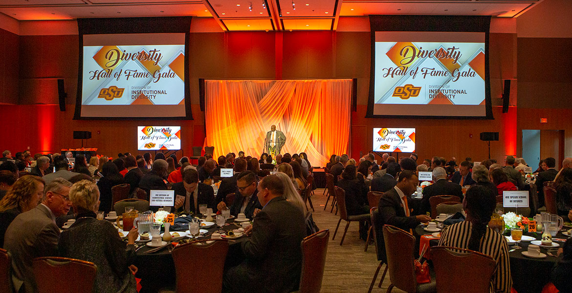 Seven honored at OSU Diversity Hall of Fame