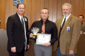 OSUs Brett Rowh honored by Stillwater Public Schools