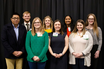 OSU's College of Engineering, Architecture and Technology mentors honored