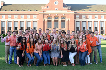 CAS students honored as Top 10 Freshmen