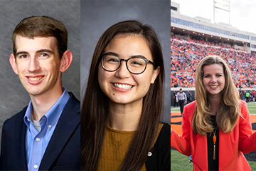 OSU tops state with three 2021 Goldwater Scholars