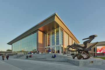 The McKnight Center for the Performing Arts celebrates one-year anniversary