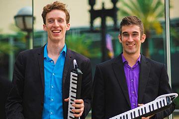"Internet Sensation ""Melodica Men"" to Perform Socially Distanced Concert at The McKnight Center"