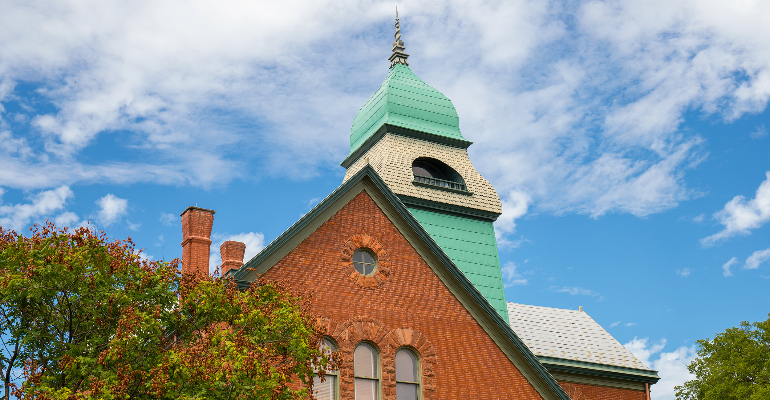 An image of Old Central on the OSU campus.