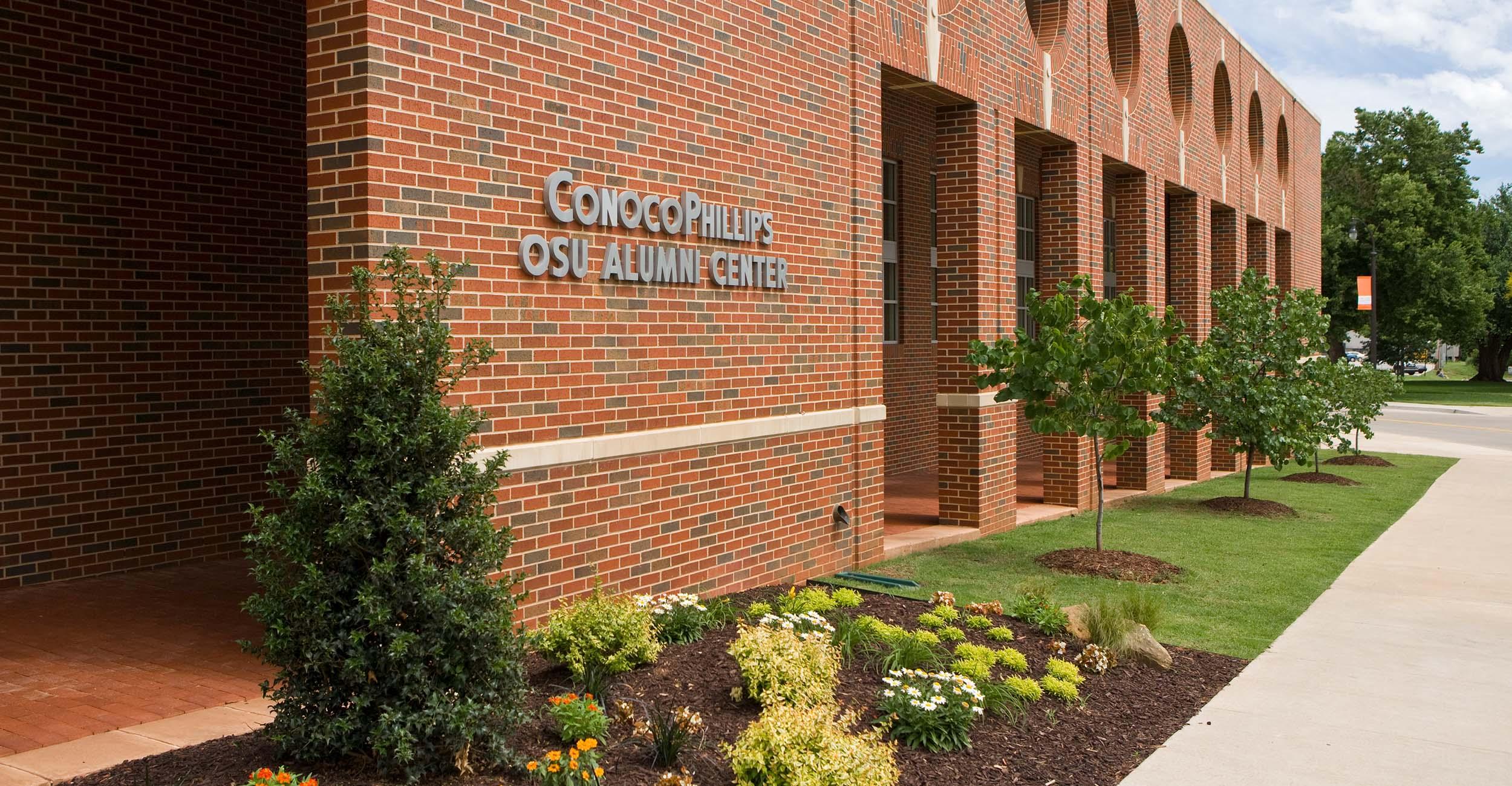 The ConocoPhillips OSU Alumni Center in Stillwater.