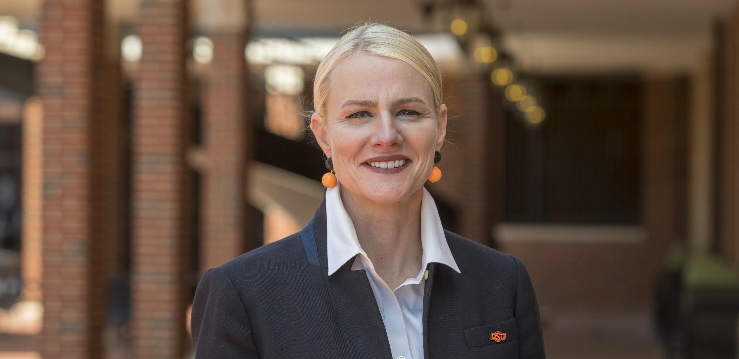 Portrait of President Kayse Shrum.