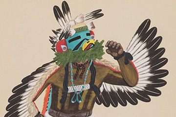 Southwest in Motion: Navajo, Pueblo and Hopi Paintings from the Charles Little Collection