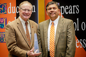 Babu among 27 CAS honorees at University Awards Convocation