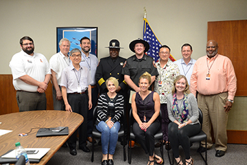 Employees complete OSUPD Citizens Academy