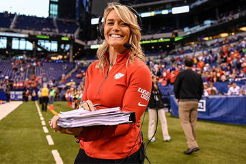 OSU alumna part of first all-female radio crew for FBS national radio broadcast