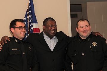 OSUPD swears in two new officers