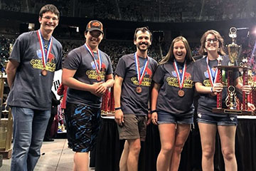 OSU Honors College Odyssey of the Mind team wins third at World Finals
