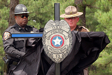 Memorial dedicated for OSUPD officer killed in 1992