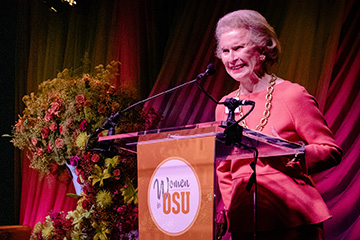 Women for OSU make 'presence' felt at symposium