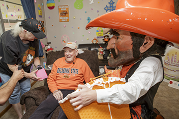 OSU honors WWII vet on his birthday