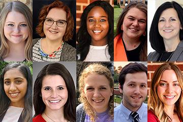 Remember the Ten Scholarship recipients announced