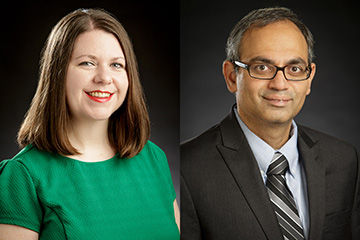 Two CEAT faculty members win NSF CAREER awards