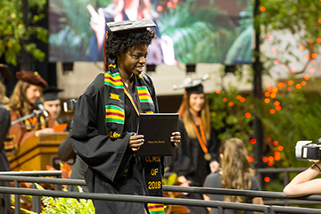 Oklahoma State honors graduates during commencement ceremonies