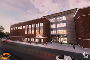 Oklahoma State University celebrates groundbreaking for the Michael and Anne Greenwood School of Music