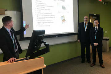 Aviation Students Present at Institute of Business Intelligence Innovation Conference