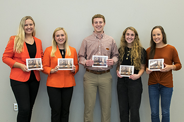 Human Sciences students selected as OSU Top 20 Freshmen