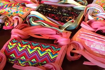 Grassroots volunteers sew thousands of masks