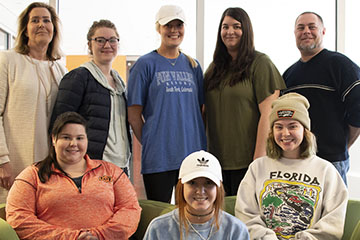 Interior design students participate in service learning project with Town and Gown Theater
