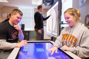 Technology Lab Facilitates Creative Collaboration