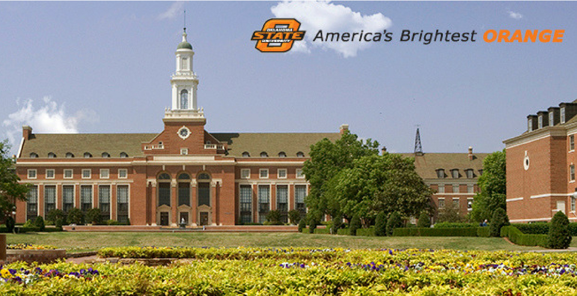Image of Edmon Low Library - OSU: America's Brightest Orange