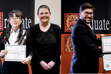 Graduate Students Honored at Annual Spring Ceremony