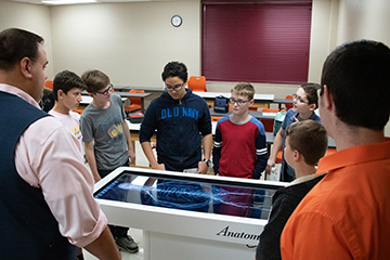 Brain Blast: Local students visit OSU Applied Neuromuscular Physiology Laboratory