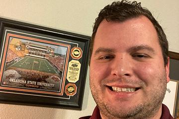 Meet Brett Stout, Kellyville school counselor