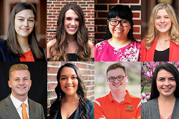 College of Education, Health and Aviation Recognizes Top 10 Seniors