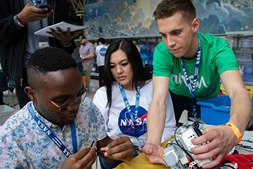 NASA partnership builds students' interest in STEM