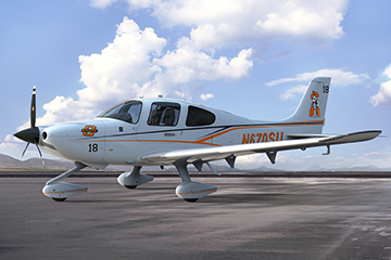 OSU Adds Cirrus Aircraft SR20 to Flight Training Fleet