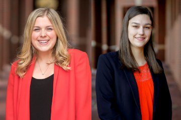 Two EHA students selected as OSU Seniors of Significance